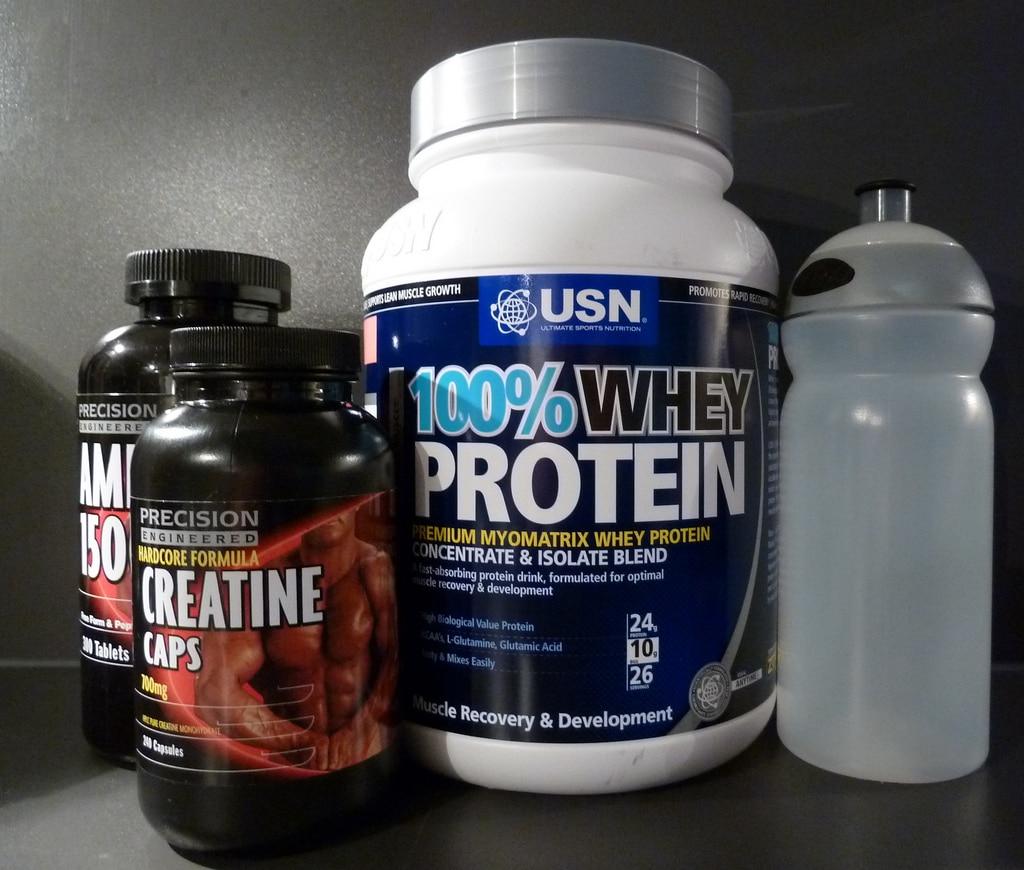 Muskelaufbau Nahrungsergänzungsmittel