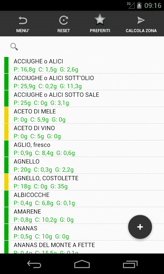 App dieta zona: le applicazioni per ios e android per chi segue la.